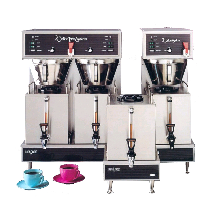 Brewmatic Satellite Drip Coffee Brewers
